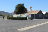 Santa Paula Airport (SZP) - Santa Paula SHELL 100LL Self-Serve, Two pumps, note lowered price. - by Doug Robertson