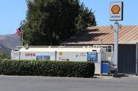 Santa Paula Airport (SZP) - Santa Paula SHELL 100LL Fuel Dock, no price change - by Doug Robertson