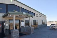 Casa Grande Municipal Airport (CGZ) - Terminal of Casa Grande airport AZ - by Jack Poelstra