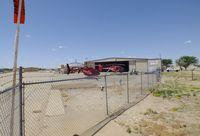 Lubbock Preston Smith International Airport (LBB) - AeroCare and other hangars at Lubbock Preston Smith Intl. Airport, Lubbock TX - by Ingo Warnecke
