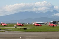 Vancouver International Airport, Vancouver, British Columbia Canada (CYVR) - Red Arrows 2019 North American tour - by Manuel Vieira Ribeiro