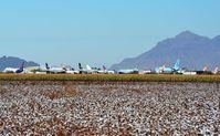 Pinal Airpark Airport (MZJ) - Marana Pinal Airpark located amids the cotton fields near Phoenix, AZ - by FerryPNL