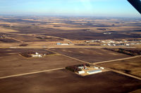 Olivia Regional Airport (OVL) - Olivia Rgnl airport, Olivia MN USA, downwind for Runway 29 - by Timothy Aanerud