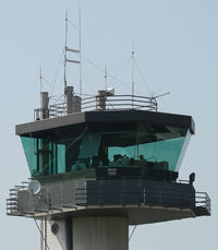 Tours Val de Loire Airport - Civilian control tower. - by Marcotte