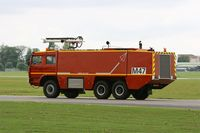 Paris - Military fire truck, Paris-Le Bourget airport (LFPB-LBG) - by Yves-Q